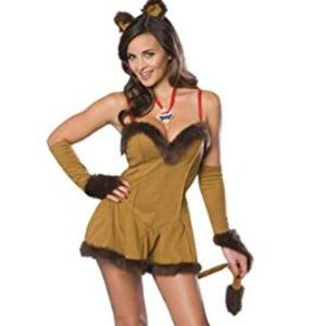 Cowardly Lioness - Halloween Costume XS